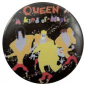 Queen - 'A Kind of Magic' Button Badge